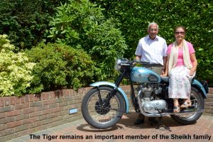 The Triumph Tiger remains an important member of the Sheikh family