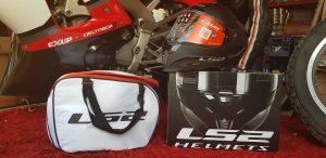 LS2 Challenger matt black helmet FF327