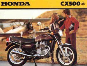 Honda CX500 advert