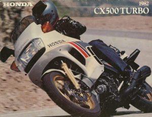 1982 Honda CX500 Turbo advert