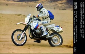 BMW Paris Dakar Rally 1984