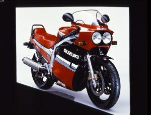 Suzuki GSX-R750 Slabside
