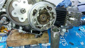 Honda SS50 engine