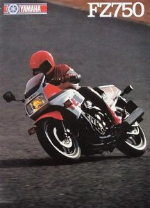 Yamaha FZ750 advert
