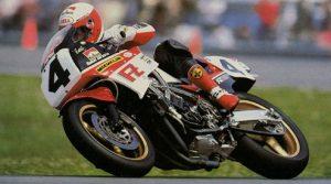Yamaha FZ750 race bike