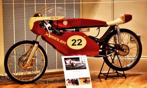 Robert Dunlop's 50cc Kreidler