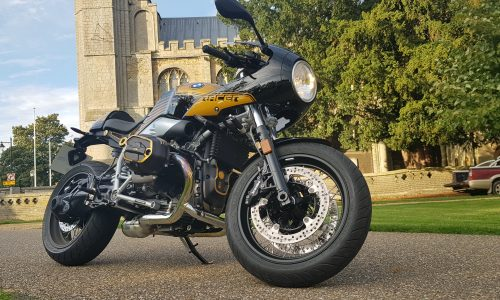 2019 BMW R Nine T Racer Option 719 Billet Pack