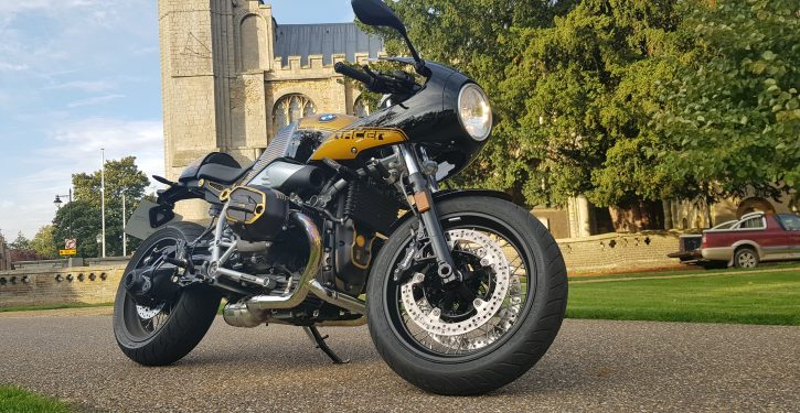 2019 BMW R Nine T Racer Option 719 Billet Pack
