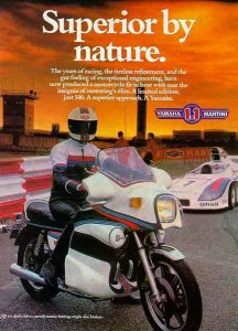 Yamaha 1.1 Martini advert