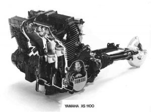 Yamaha XS1100 engine