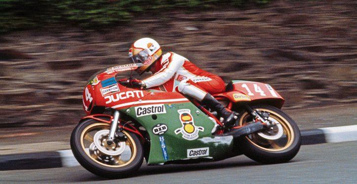 Mike Hailwood IOM TT 1979