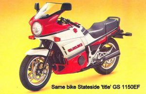 Suzuki GS1150EF