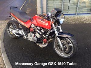 Mercenary Garage GSX1540 Turbo bike