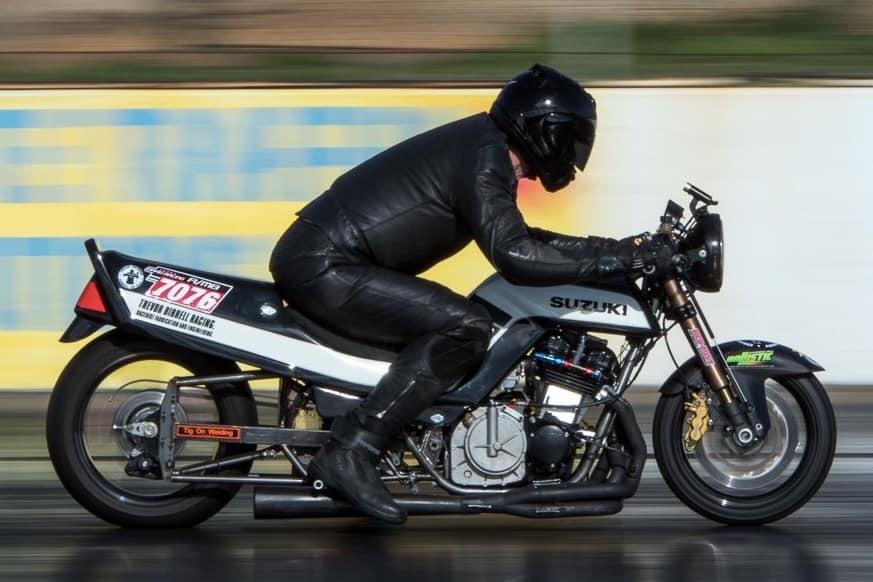 Suzuki GSX1100 drag bike