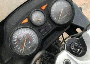Suzuki GSX600F Clocks