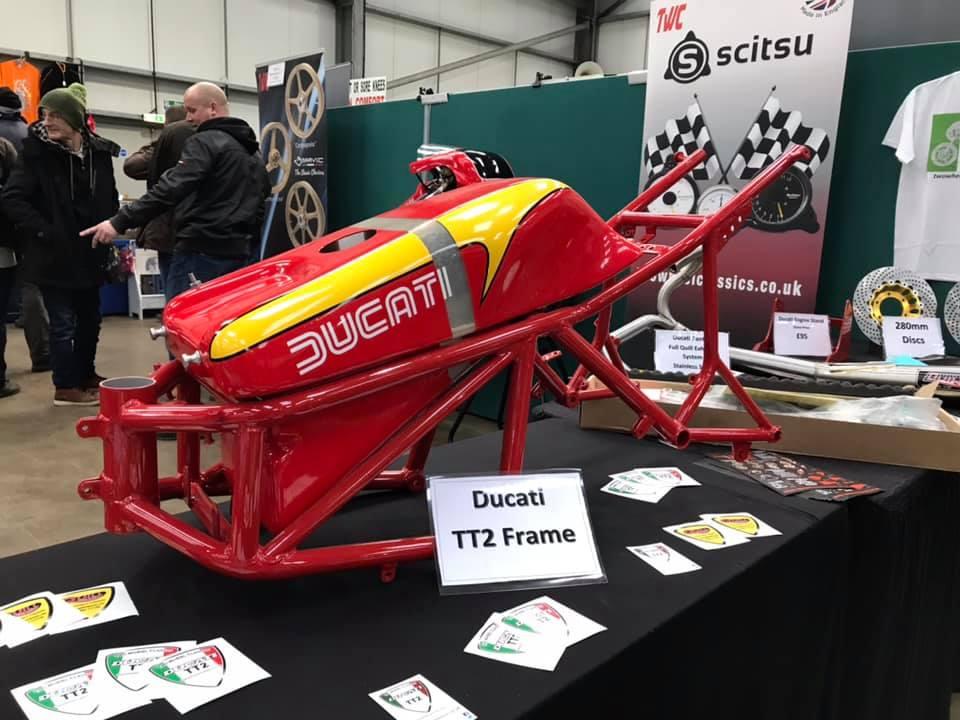 Ducati TT2 frame