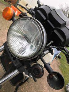 RD350 LC headlight