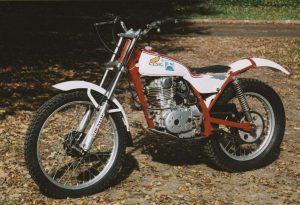 ex-Marland Whaley Honda trials bike