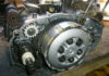 RD350 LC engine stripped