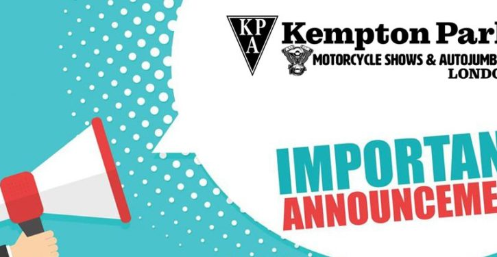 Kempton Park Autojumble Cancelled