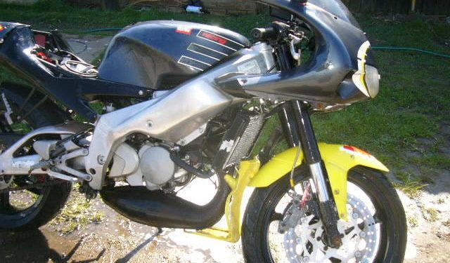 Aprilia RS125 restoration