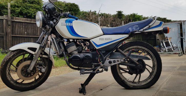 1980 Yamaha RD350 LC Restoration