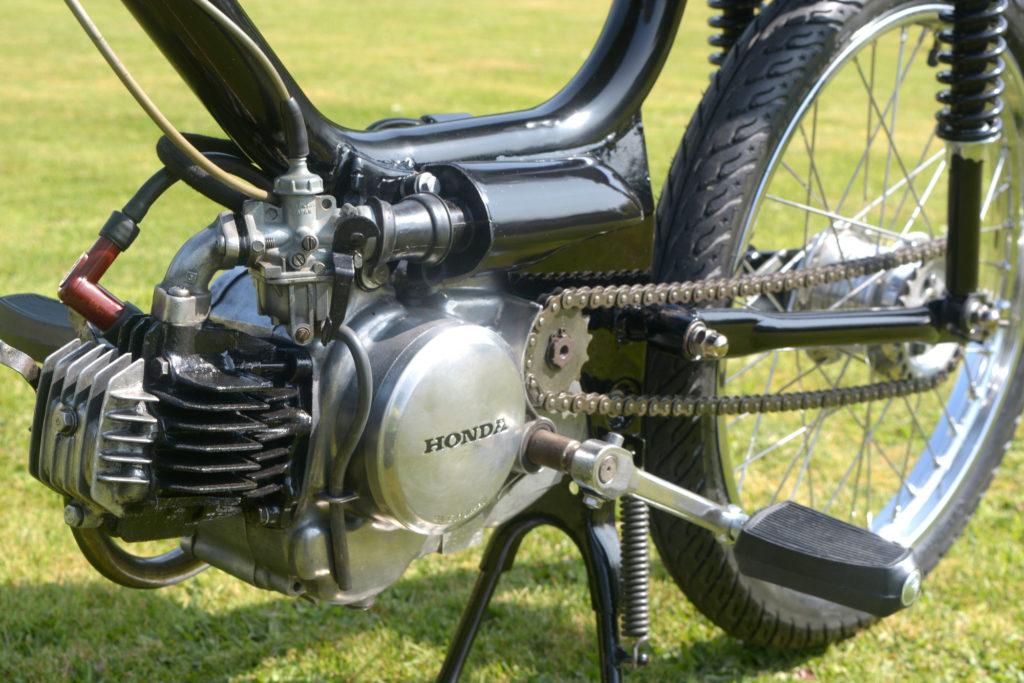 running Honda PC50 engine