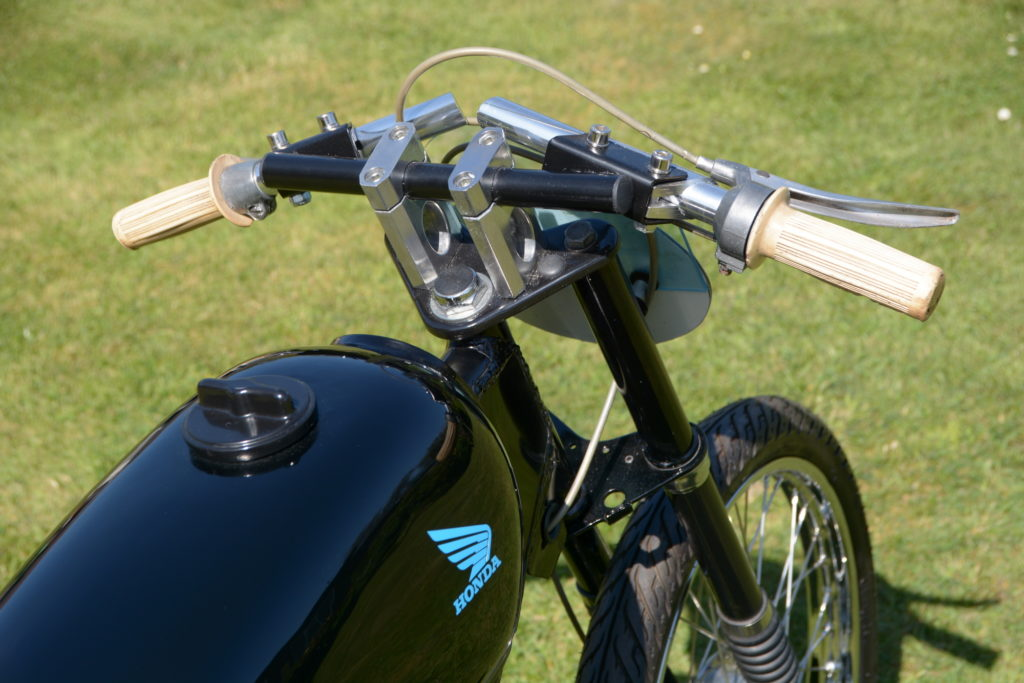 Honda PF50 Novio custom restoration
