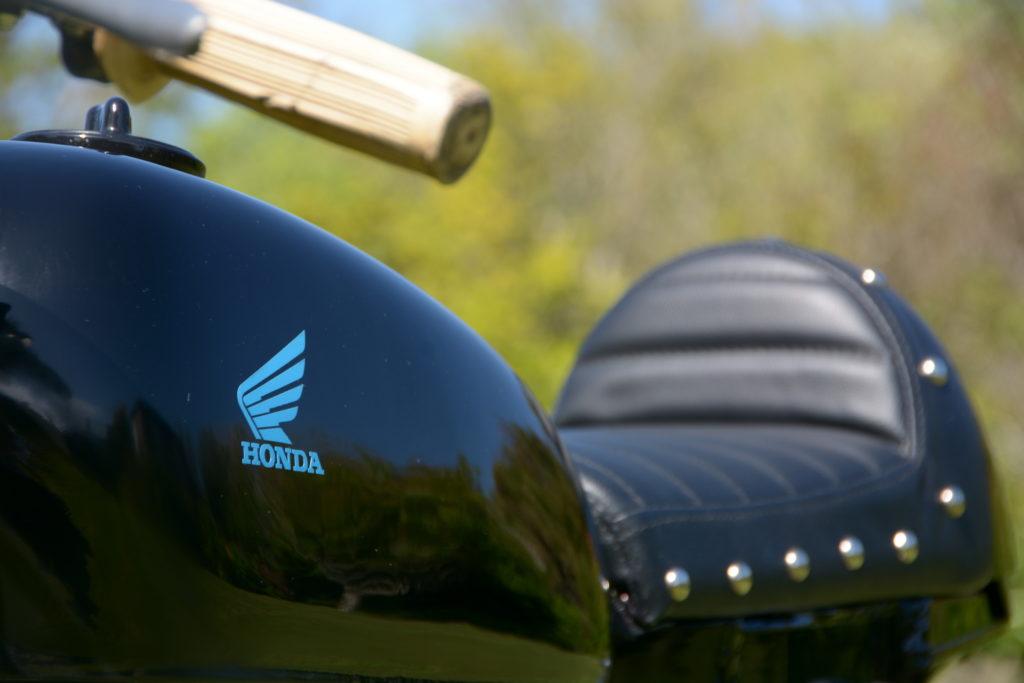 Honda PF50 Novio custom moped restoration