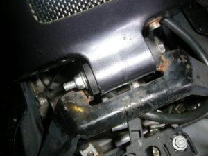 Aprilia RS125 tank mount