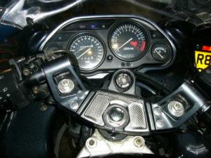 Kawasaki ZZ600 dashboard