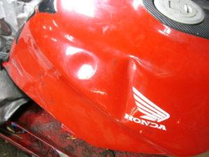 Honda CBR600FK petrol tank