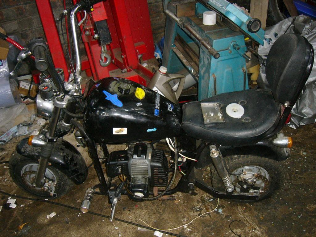 Chinese monkey chopper bike