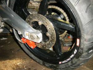 Aprilia RS125 swingarm