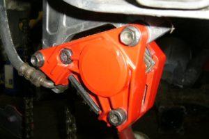Aprilia RS125 caliper