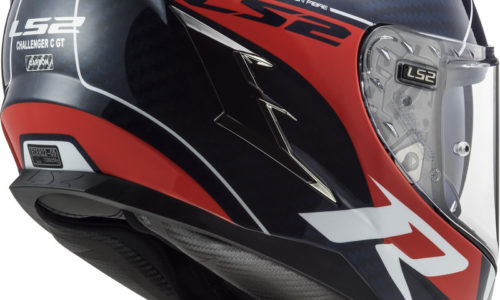 LS2's full carbon, ultra-light Challenger helmet