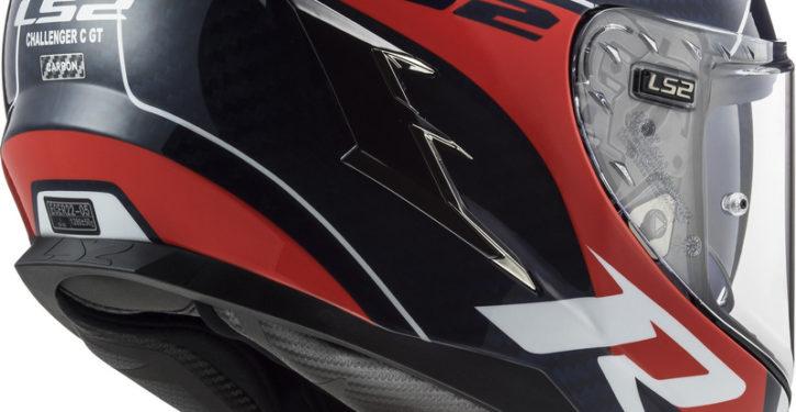 LS2's full carbon, ultra-light Challenger helmet