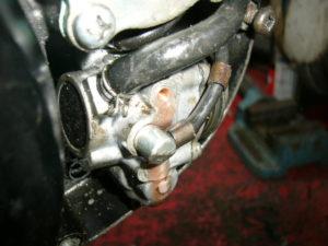 bleeding the RD350LC oil tank