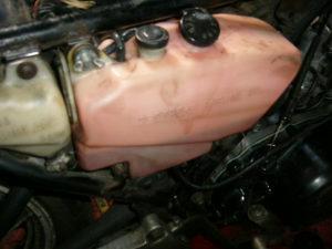 RD350LC 2-stroke oil tank