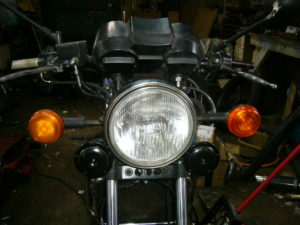 RD350LC twin horns