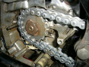 RD350LC NEW chain and sprockets