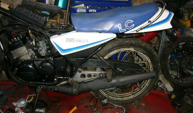 350 LC restoration