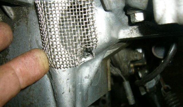 Yamaha Thundercat engine repair