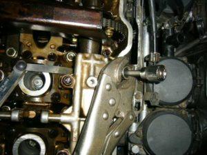 Honda CBR1000F cylinder head