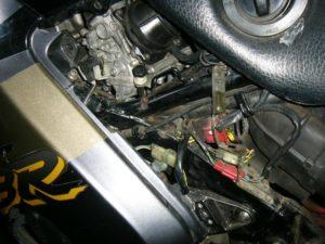 Honda CBR1000F carbs