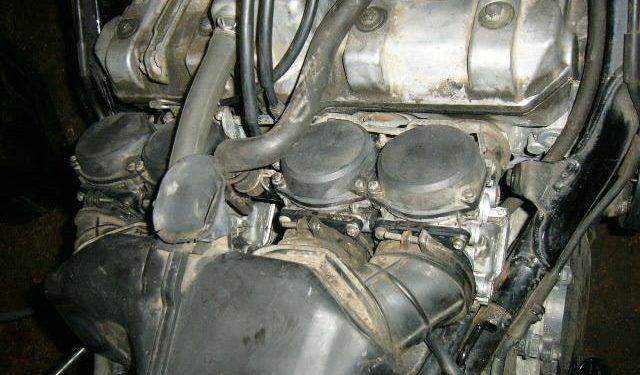 Honda CBR1100 Carbs
