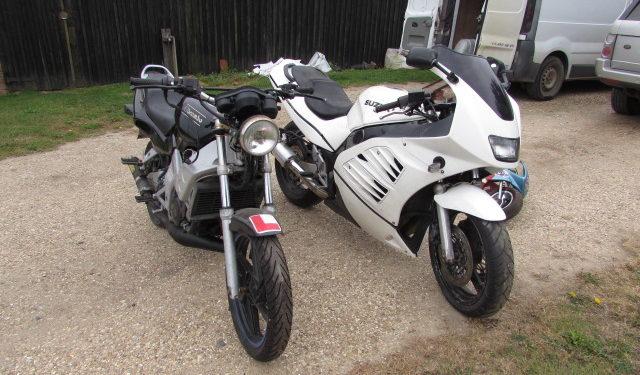 Honda NSR125 & Suzuki RF600