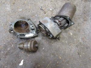 Honda NSR125 starter motor