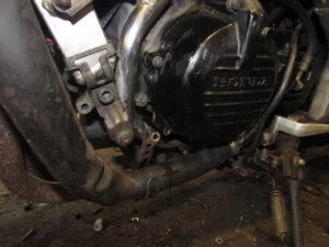 Honda VFR750 engine cover