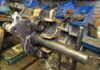 Motorcycle brake caliper piston extraction tool
